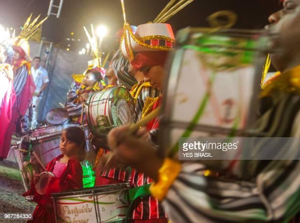 "Carnaval - Brazil - Bateria da Escola de Samba - ""Surdo and Repique"""