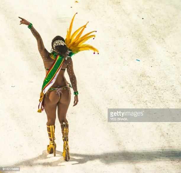 carnaval - brazil - parade on the samba pass - roda de samba imagens e fotografias de stock