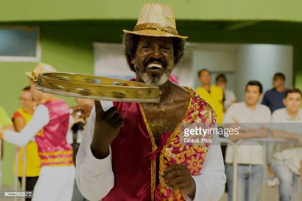 carnaval - brazil - tambourine foto e immagini stock