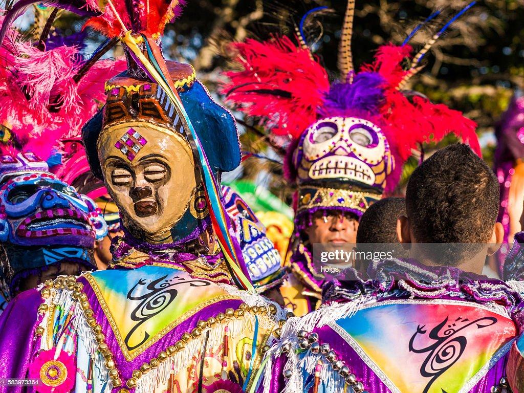 Carnaval in Sosua : Stock Photo