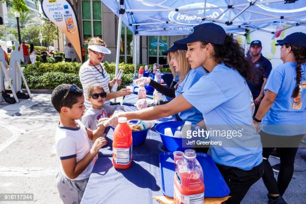 Carnaval Miami Ocean Spray Exhibitor Booth