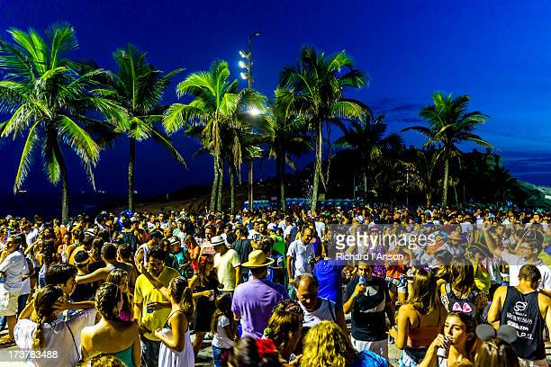 Carnaval party at Parque Garota de Ipanema
