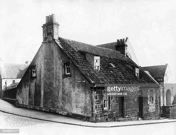 Carnegie Andrew Industrialist USA *25111835 Birthplace in Priory Lane Dunfermline Scotland ca 1900 Photographer PresseIllustrationen Heinrich...