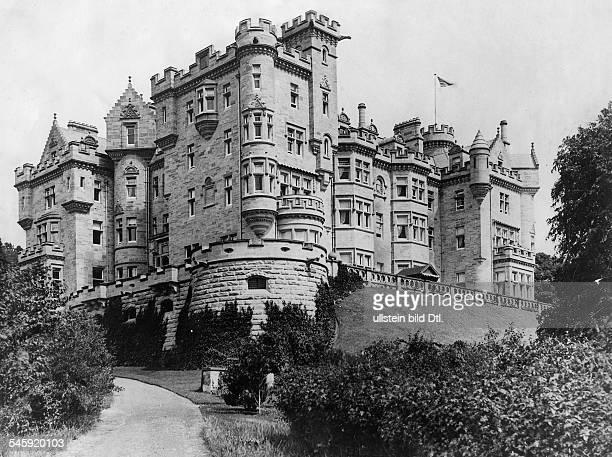 Carnegie Andrew Industrialist USA *25111835 Skibo Castle home of Carnegie near Dornoch Sutherland Highland Scotland ca 1900 Photographer...