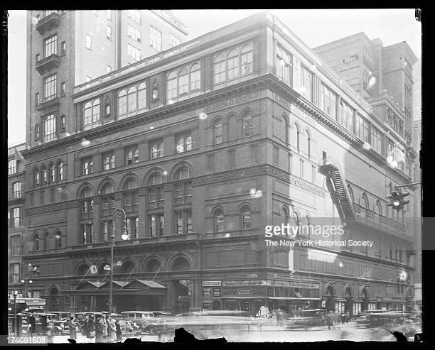 Carnegie Hall, West 57th Street and Seventh Avenue, New York, New York, early twentieth century.
