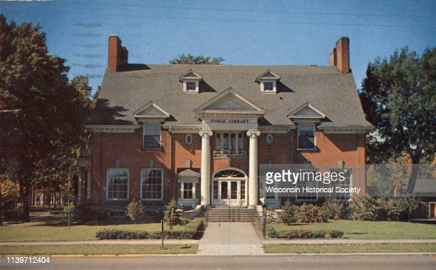 Carnegie Library Antigo Wisconsin 1920