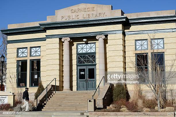 carnegie public library - andrew carnegie stock pictures, royalty-free photos & images