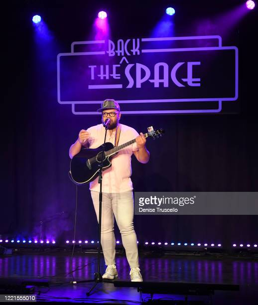 Carnell Johnson performs at the Mondays Dark Live Stream Telethon for the Actors Fund of Las Vegas at The Space on April 27 2020 in Las Vegas Nevada...
