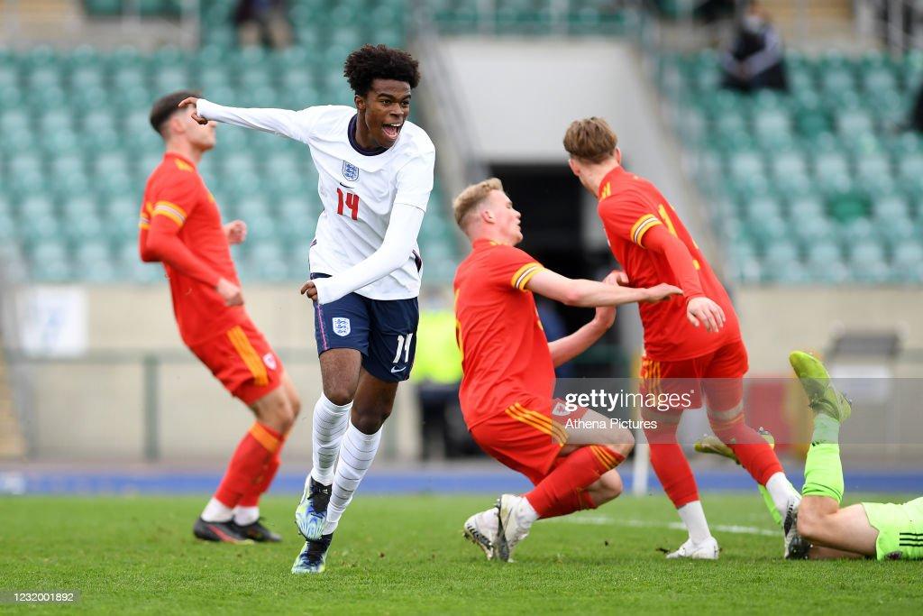 Wales v England - U18 International match : News Photo