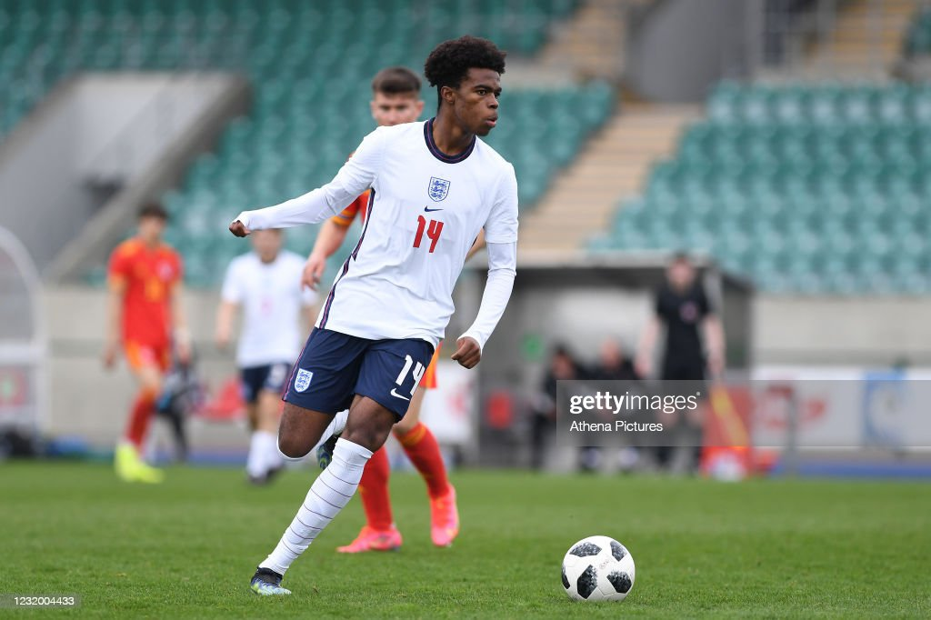 Wales v England - U18 International match : ニュース写真