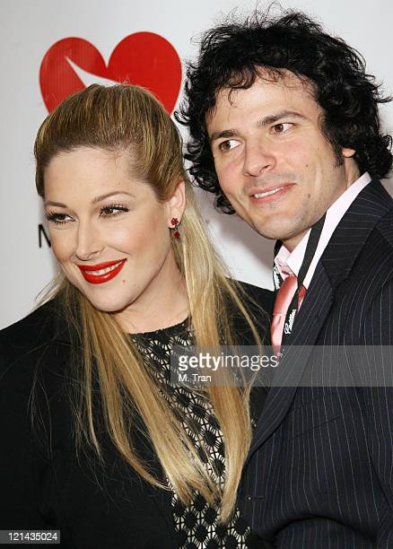 Carnie Wilson and husband Rob Bonfiglio during 2007 MusiCares Person Of The Year Honoring Don Henley Arrivals at Los Angeles Convention Center in Los...