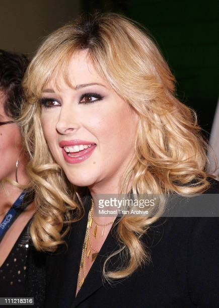 Carnie Wilson during 2006 MusiCares Person of the Year Tribute to James Taylor at Los Angeles Convention Center in Los Angeles California United...