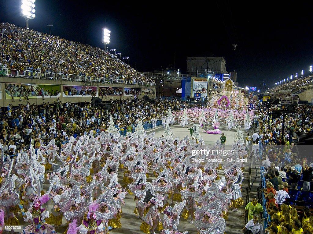 Carnival 2008 - Imperatriz Leopoldinense : Stock Photo