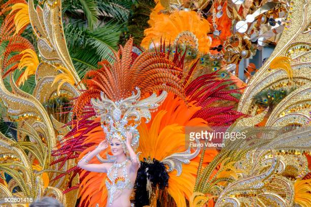 Carnival at Santa Cruz de Tenerife, Canary Islands - Spain