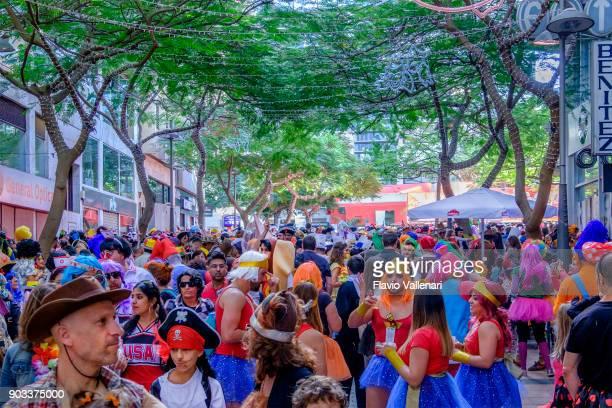 Carnival at Santa Cruz de Tenerife, Canary Islands - Spain