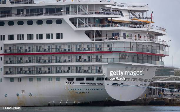 Carnival Cruise ship is docked at the PortMiami as the company becomes one of the first to be sued under Title III of the HelmsBurton Act at the...