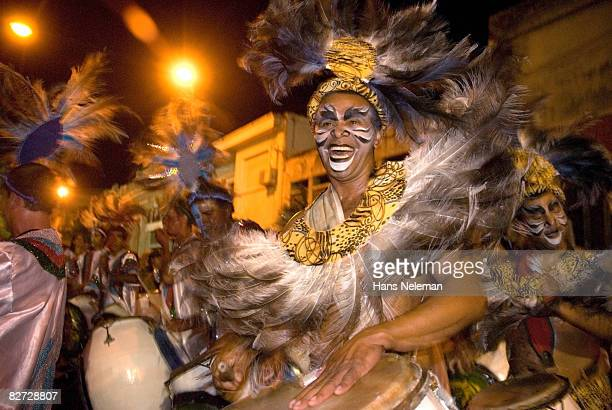 carnival dancer - uruguay stock pictures, royalty-free photos & images