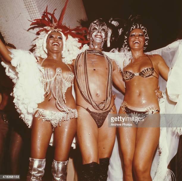 Carnival day in Brazil circa 1960