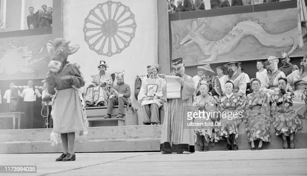 Carnival festivities in SchwyzCarnival festivities in Schwyz 1947