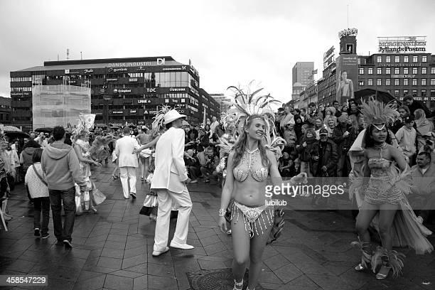 Carnival Group dancing in Copenhagen, Denmark