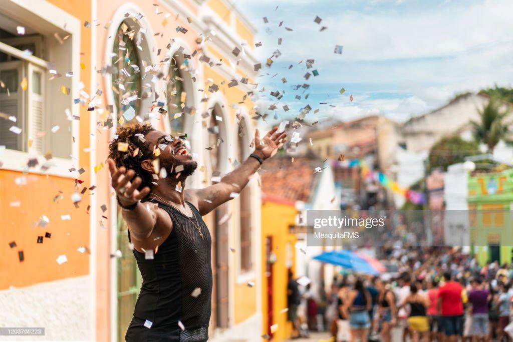 Carnival in Olinda : Stock Photo