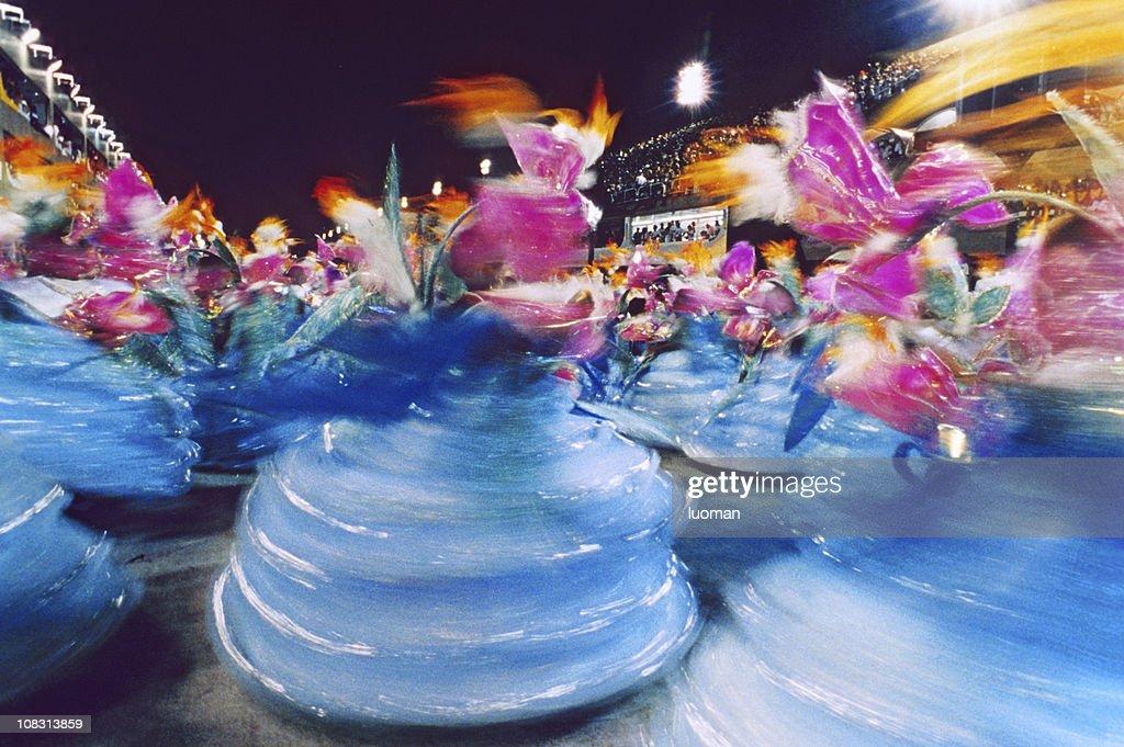 Karneval in Rio de Janeiro-Baianas : Stock-Foto