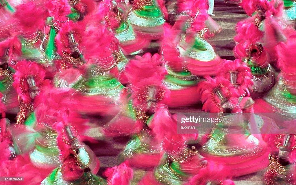 Carnival in Rio de Janeiro - Baianas : Stock Photo