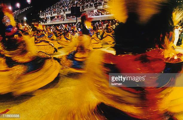 carnival in rio de janeiro - mardi gras party stock photos and pictures