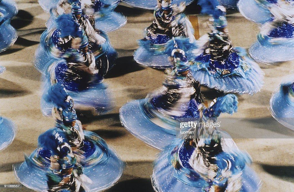 Carnival in Rio de Janeiro : Stock Photo
