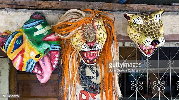 Carnival masks in Jacmel