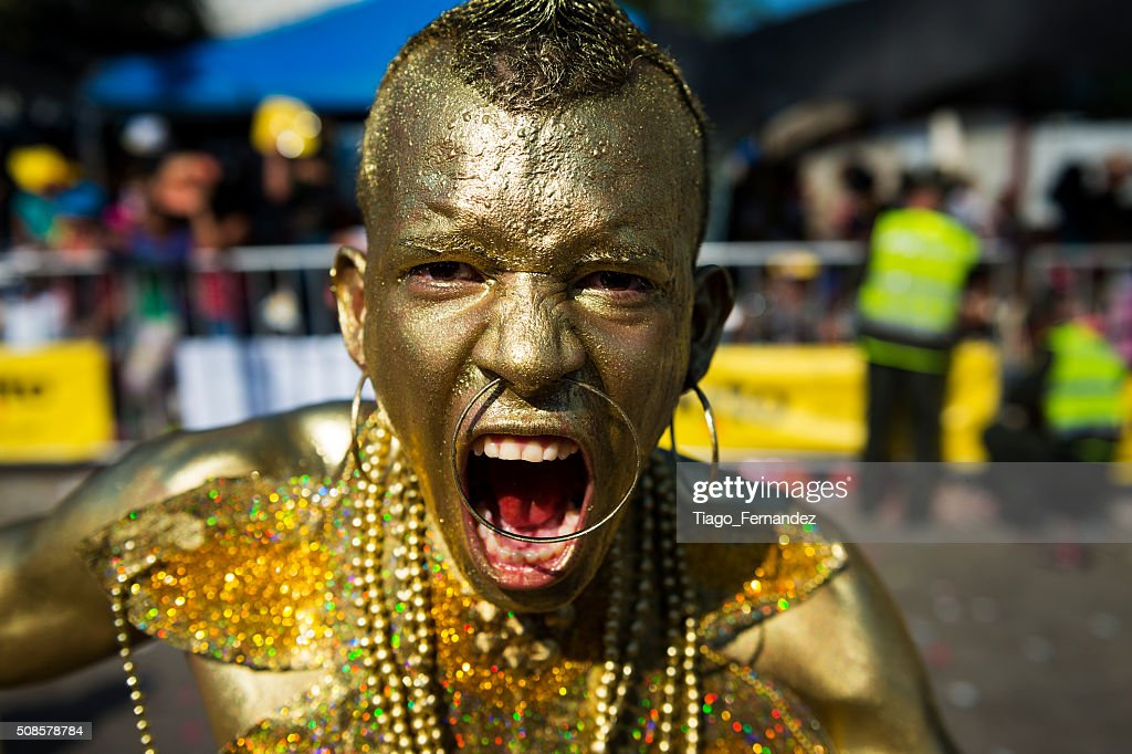 Carnival of Barranquilla, in Colombia. : Stock Photo