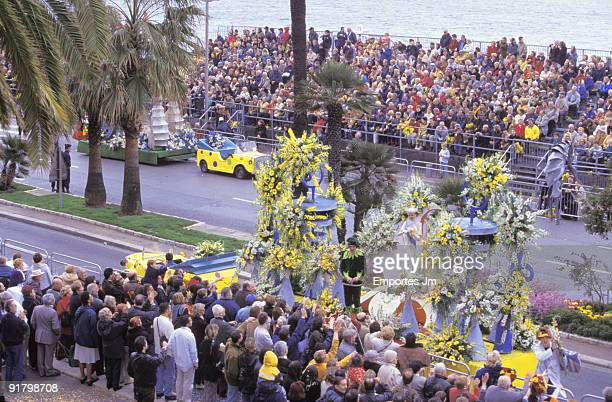 Carnival parade, Nice, France