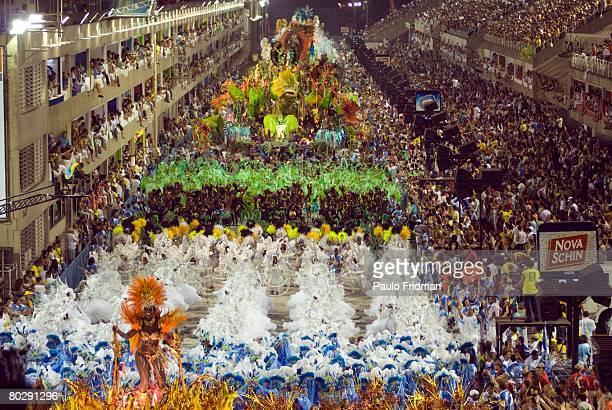 Carnival parade, Rio de Janeiro. Brazil