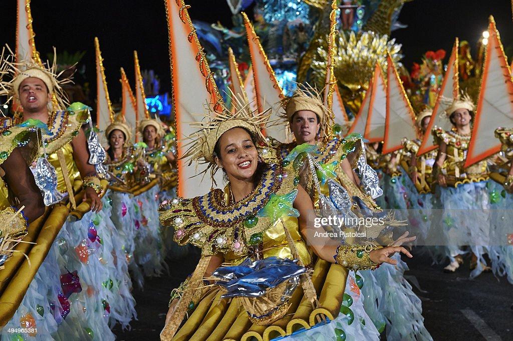 Carnival Parade, Sao Paulo, Brazil : Stock Photo