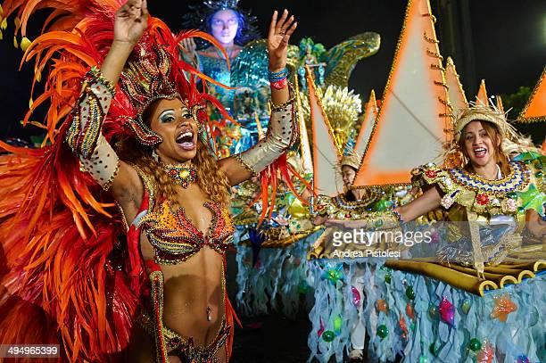 Carnival Parade, Sao Paulo, Brazil