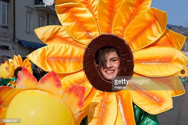 Carnival sunflower
