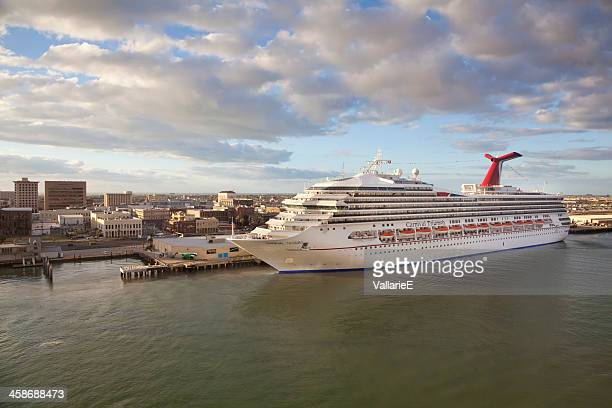 carnival triumph cruise ship - galveston stock pictures, royalty-free photos & images