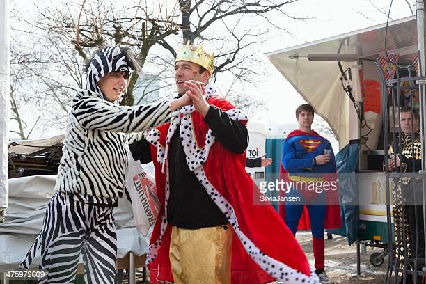carnival Weiberfastnacht Feier paar-Tanz