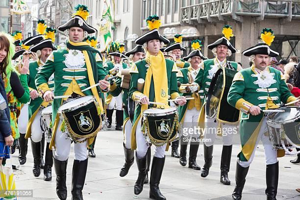 carnival Weiberfastnacht Feier traditioneller Musik-band