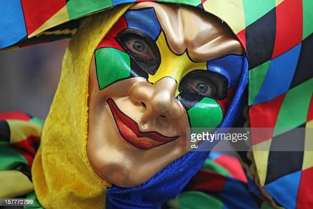 Karneval Maske Harlekin