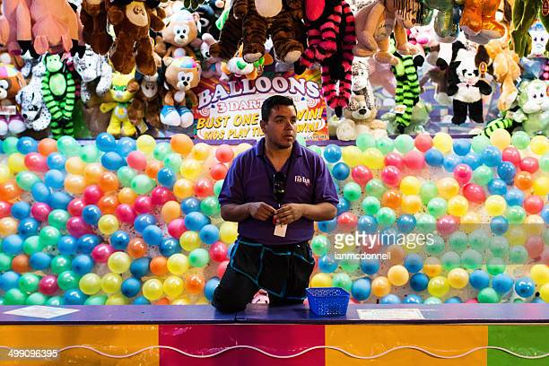 carnival worker - midway stock photos and pictures