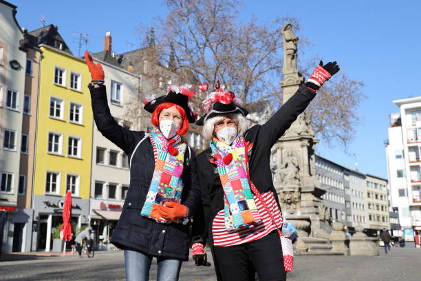 DEU: Cologne Carnival Cancelled Due To COVID Lockdown