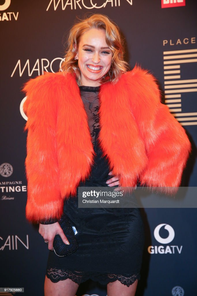 Caro Cult attends the PLACE TO B Pre-Berlinale-Dinner Photo Call at Provocateur on February 13, 2018 in Berlin, Germany.