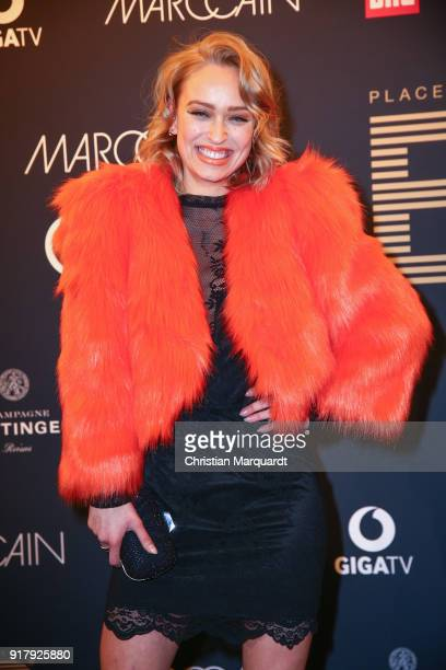 Caro Cult attends the PLACE TO B PreBerlinaleDinner Photo Call at Provocateur on February 13 2018 in Berlin Germany