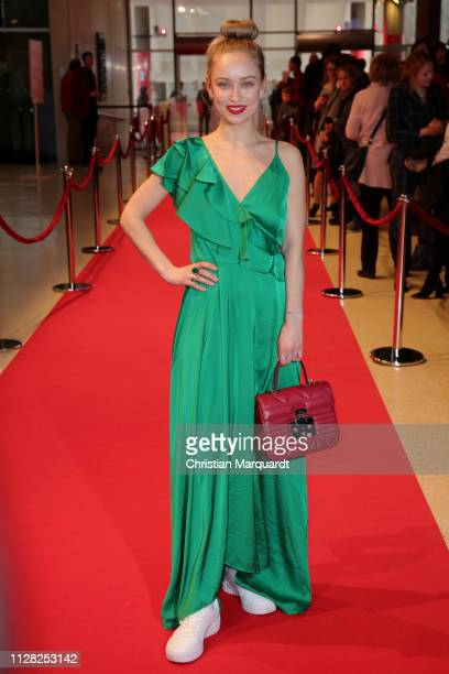 Caro Cult attends the premiere of the film CLEO during the 69th Berlinale International Film Festival at Haus der Kulturen der Welt on February 08...