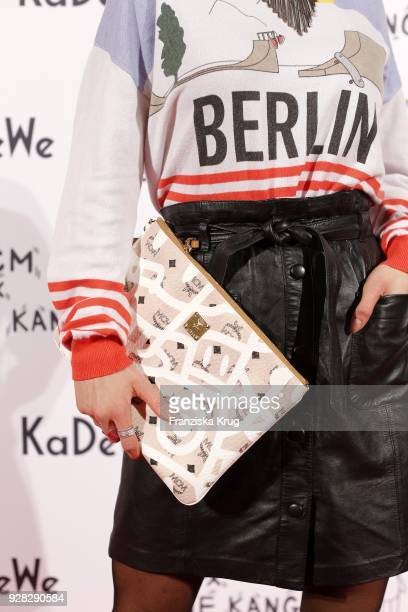Caro Cult detail during the MCM X Eddie Kang launch event at KaDeWe on March 6 2018 in Berlin Germany