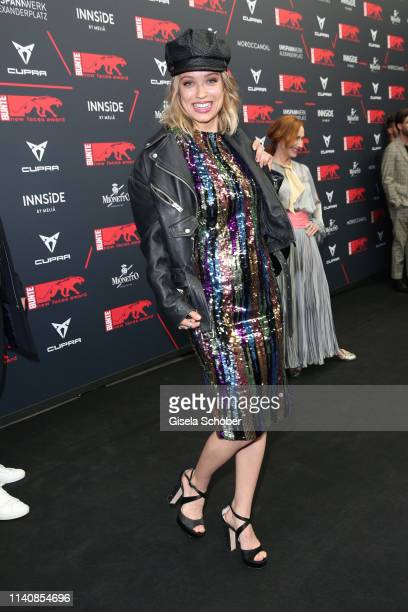Caro Cult during the Bunte New Faces Award Film at Umspannwerk Alexanderplatz on May 2 2019 in Berlin Germany