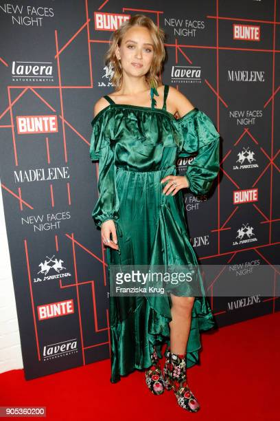 Caro Cult during the Bunte New Faces Night at Grace Hotel Zoo on January 15 2018 in Berlin Germany