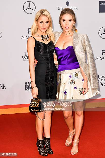 Caro Daur and Victoria Swarovski attend the Tribute To Bambi at Station on October 6 2016 in Berlin Germany