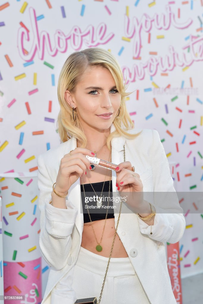 Caro Daur attends MAC Cosmetics Oh Sweetie Lipcolour Launch Party in Beverly Hills on June 12, 2018 in Beverly Hills, California.